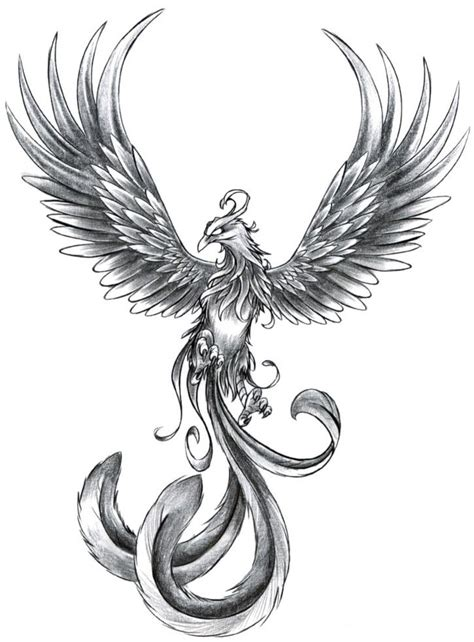 17 phoenix tattoo designs