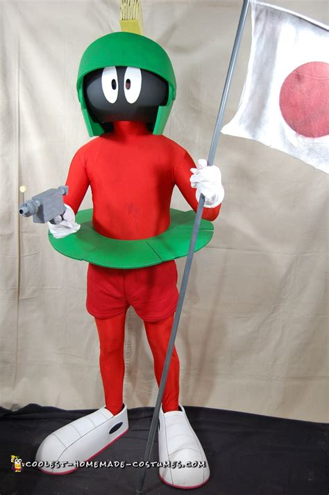 coolest homemade marvin  martian costumes