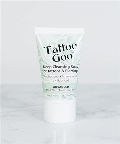 tattoo goo deep cleansing soap tattoo goo 174 deep cleansing soap