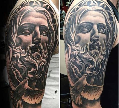 jesus tattoo underarm 60 jesus arm tattoo designs for men religious ink ideas
