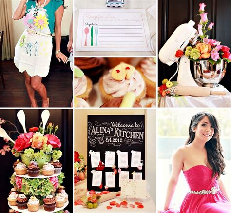 kitchen bridal shower ideas creative kitchen themed bridal shower floral