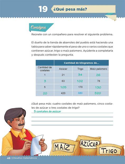 libro de desafios matematicos 5 grado contestado libro de desafios matematicos de 5 grado contestado