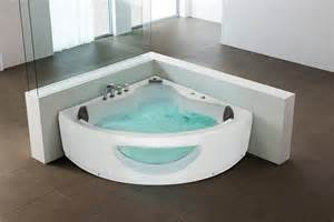 Jacuzzi Bath Shower Combo beliani whirlpool indoor sprudelbad spa badewanne