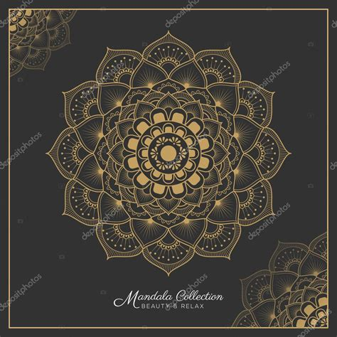 henna mandala tattoo design stock vector 169 raftel 125722428