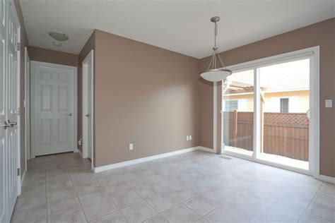 mocha paint colors dining area painted mocha brown with white trim
