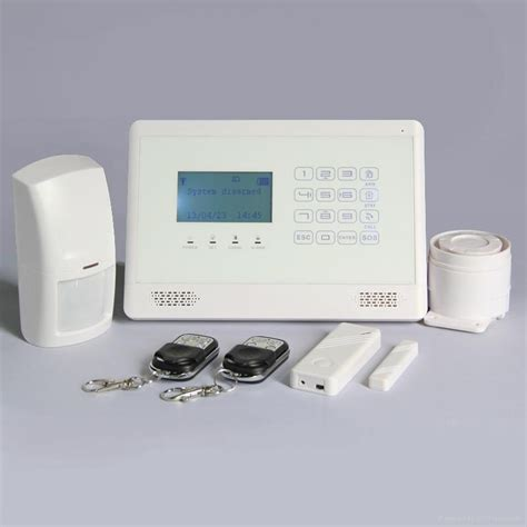wireless gsm personal safety auto home security alarm