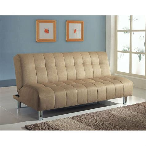 Tufted Sleeper by Futon Sofa Bed Modern Mattress Convertible Tufted