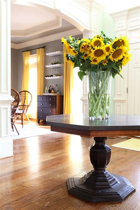 Yellow And Grey Dining Room by 1000 Images About Dining Room On Accent Walls Dining Rooms And Yellow Dining Room