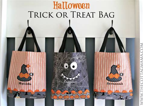 Pottery Barn Kids Decor Halloween Trick Or Treat Bag Pattern The Cottage Mama