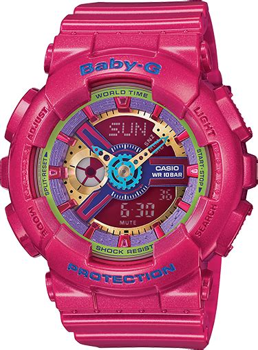 Baby G Casio Dg 120 Blue ba112 4a baby g pink womens watches casio baby g
