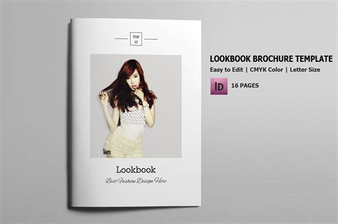 Indesign Fashion Lookbook Template On Behance Lookbook Template Downloads