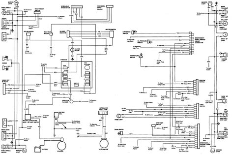72 chevelle alternator wiring diagram get free image