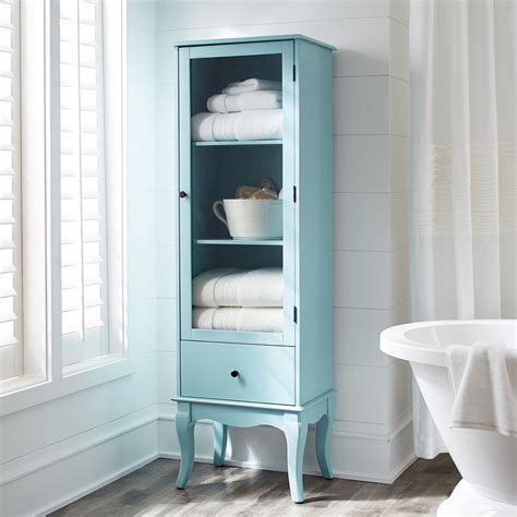 turquoise bathroom cabinet sky blue toscana tall cabinet everything turquoise
