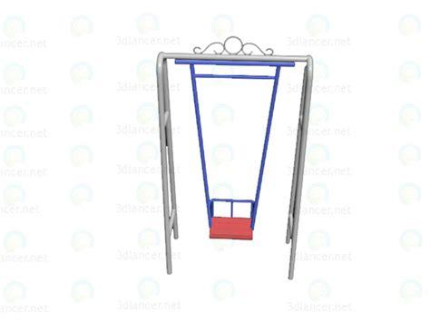 swing 3d model 3d model swing in the style of rococo id 13803