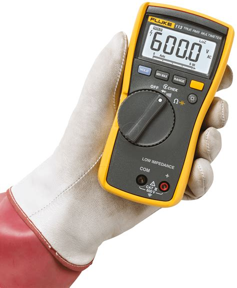 Multimeter Elektronik fluke 113 digital handheld multimeter trms at reichelt