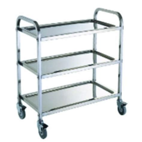 Meja Stainless 5301 a small service trolley stainless steel