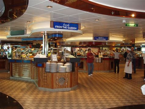 of the winds buffet beyond travels newly refurbished radiance of the seas june 2011