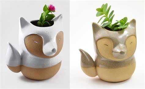 Handmade Ceramic Pots - handmade ceramic animal planters by cumbuca chic colossal