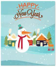20 happy new year greeting cards
