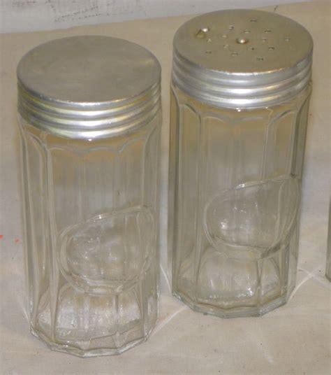 Glass Spice Jars With Labels Bargain S Antiques 187 Archive Five Antique