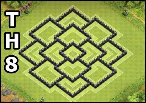 layout of coc town hall 8 youtube kids clash of clans town hall 8 coc th8 base