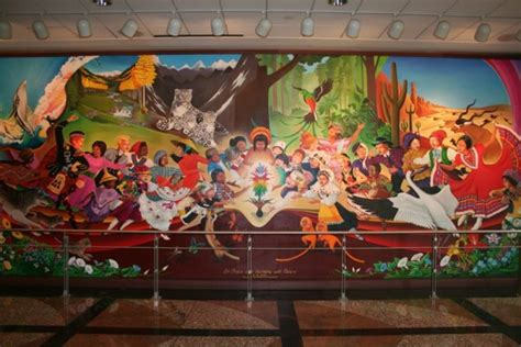 sinister sites the denver international airport denver airport murals denver colorado denver airport denver colorado