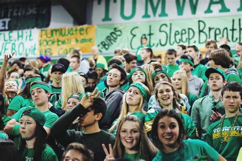 step inside the t bird nation at tumwater high school
