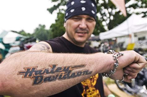 unique harley davidson tattoo ideas and inspirations