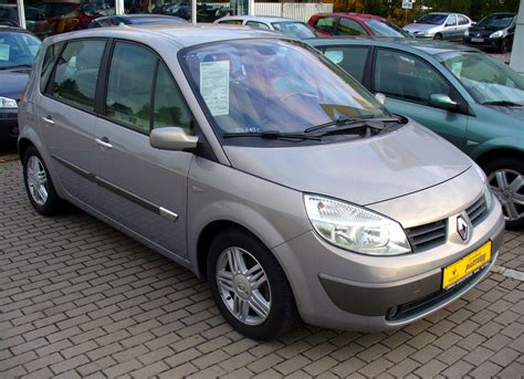 renault scenic 2007 2007 renault scenic ii pictures information and specs