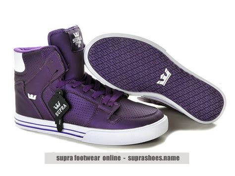 supra vaider purple white shoes for sale