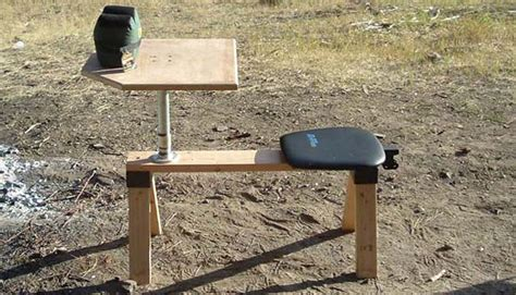 shooting bench plans portable best portable shooting bench predatormasters forums