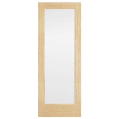 home depot interior glass doors steves sons 30 in x 80 in full lite solid core pine