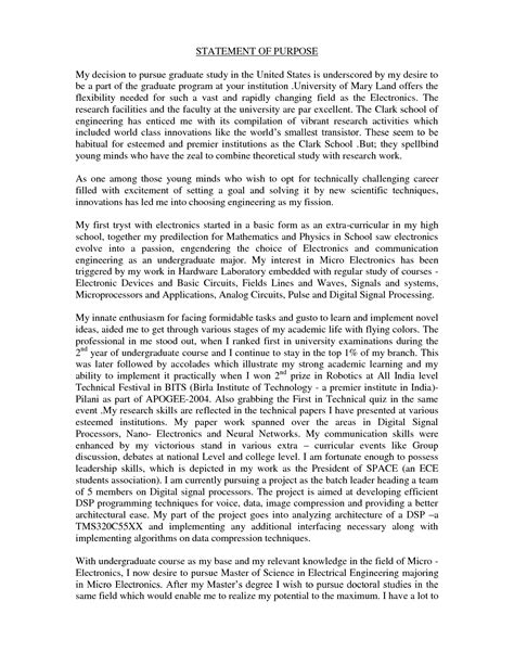graduate school essay sles personal statement for graduate school exles