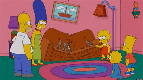 simpsons sofa pin simpsons couch gag wallpapers stock photos on pinterest