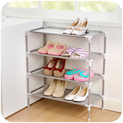 five shelf shoe cabinet with two storage bins 2016 new non woven fabric storage shoe rack hallway