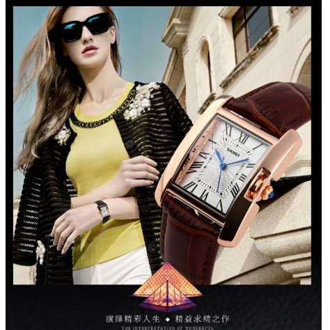 Skmei 1085 Fashion Leather Jam Tangan Wanita skmei jam tangan fashion wanita 1085cl coffee jakartanotebook