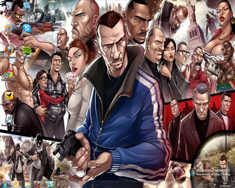 Auto Logo Windows 7 by Grand Theft Auto