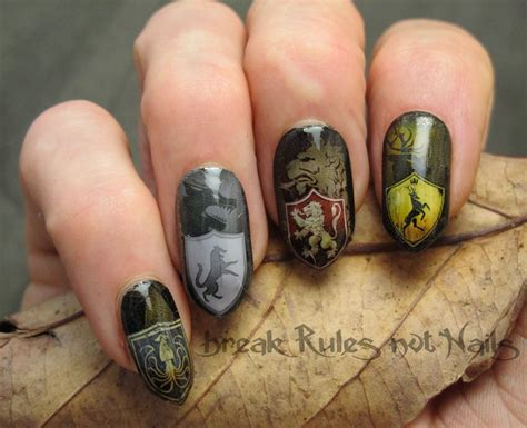 design nails game game of thrones take 2 break rules not nails