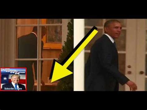 trump desk vs obama desk obama was just spotted leaving something special for