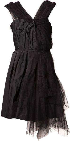 Ricci Tulle Tank Dress It Or It by Ricci Tulle Dress In Black Lyst