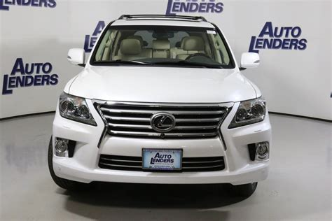 suv lexus white lexus lx 570 suv for sale used cars on buysellsearch