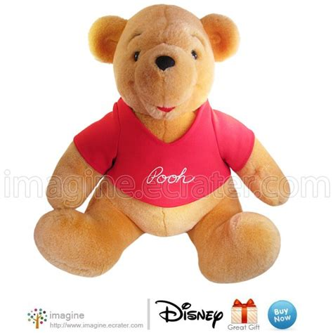 Exclusive Boneka Winnie The Pooh Jumbo large 14 quot vintage disneyland exclusive winnie the pooh plush disney stuffed animal
