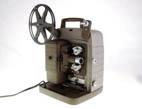 vintage movie projector 8mm bell and howell 1960s