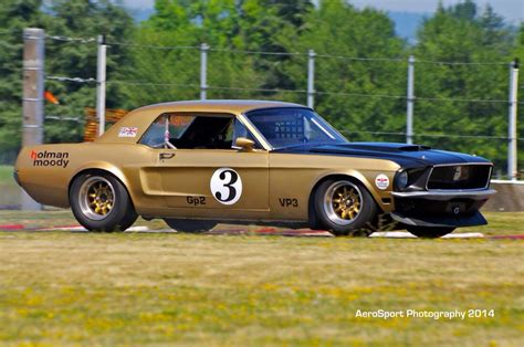 Holman Pontiac by Holman Moody Built 3 Road Race 1968 Mustang Each Car Had