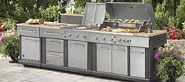 shop modular outdoor kitchens at lowes