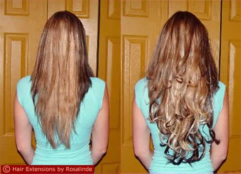 Thin Hair After Extensions | hair extensions before and after thin hair trendy mods com