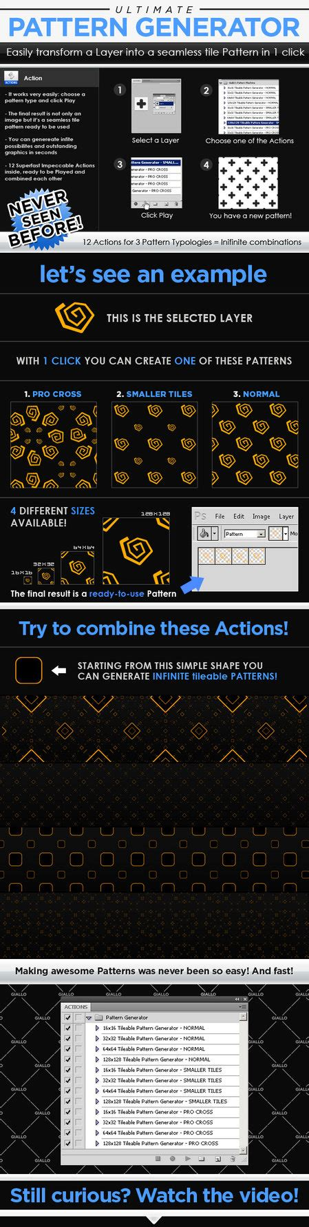 pattern overlay generator photoshop and gradient brushes favourites by theheek on