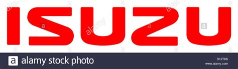 logo isuzu company logo of the japanese automobile manufacturer isuzu
