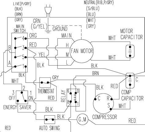 samsung air conditioner wiring diagram wiring diagram