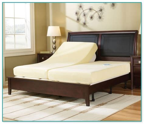 sleep number king size bed sleep number split king adjustable bed